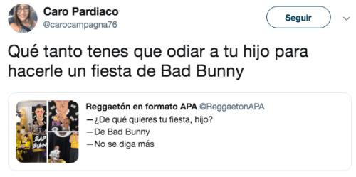 Niño Fiesta Bad Bunny