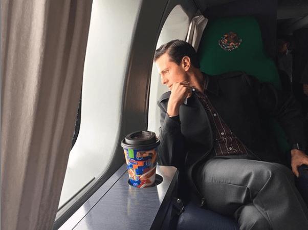 Peña Nieto pasea con tacones de 10 centímetros en España
