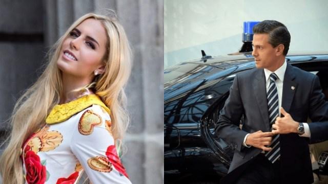 Tania Ruiz habla sobre su relación con Enrique Peña Nieto