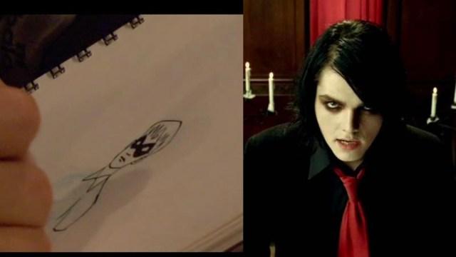 El vocalista de My Chemical Romance escribió The Umbrella