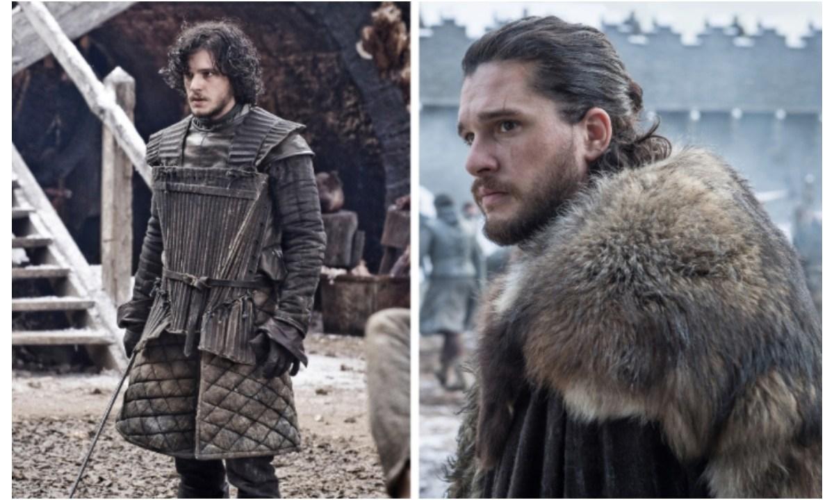 Personajes de Game Of Thrones a lo largo de 8 temporadas