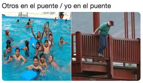 Memes del puente de Benito Juárez
