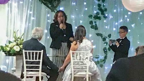 Rafael Inclan y Paola Lavat se casan