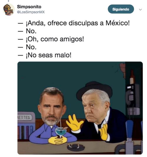 Reacciones a la disculpa que AMLO pide al rey de España