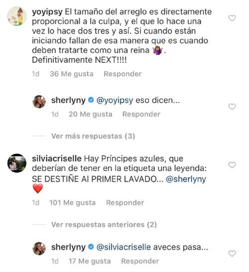 Sherlyn manda indirectas a su ex novio