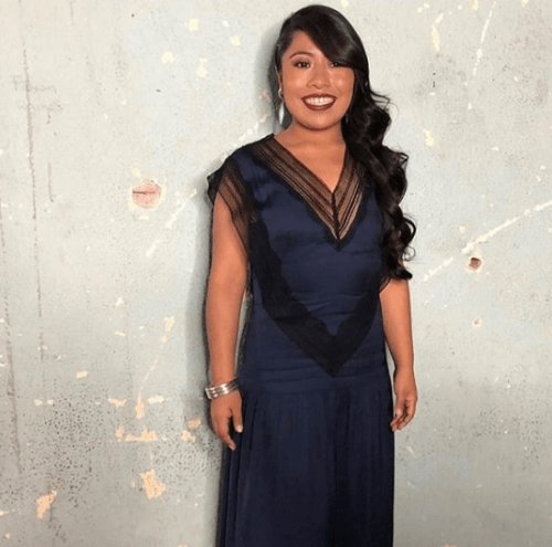 Yalitza Aparicio usa doble para evitar a la prensa