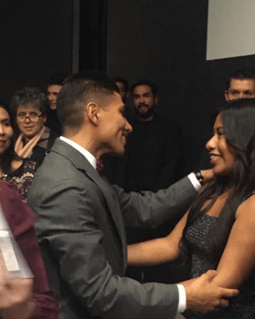 Jorge Antonio Guerrero declara su amor por Yalitza Aparicio