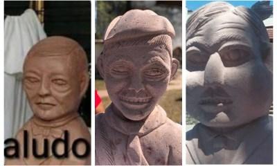 """Del busto de Juárez """"alien"""" y Amlo """"con paperas"""" Cantinflas"""