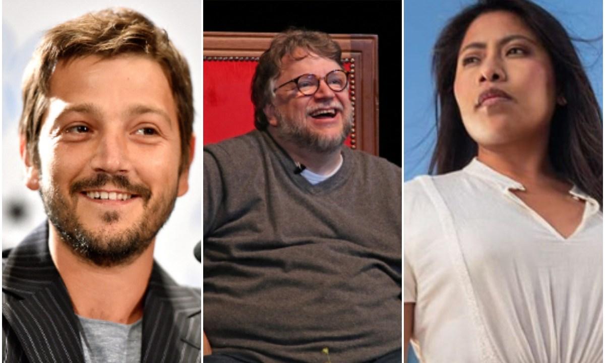 Yali, Diego Luna y Guillermo del Toro trabajan juntos
