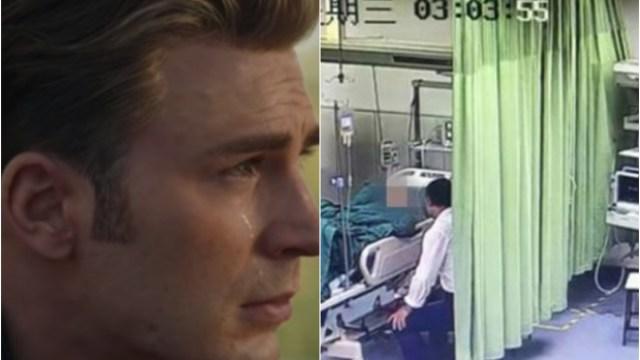 Hospitalizan a mujer no podía dejar de llorar viendo Endgame