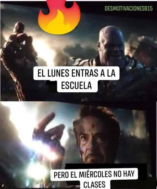 Memes de Avengers Endgame con spoilers