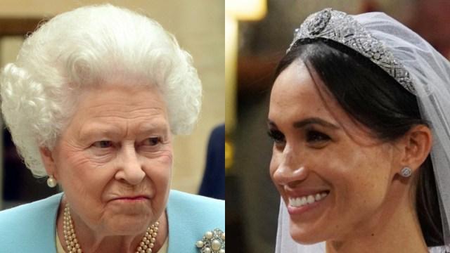 Reina Isabel II Le Prohibe A Meghan Markle Ver Colección De Joyas, Isabel II No Presta Joyas A Meghan Markle, Reina Isabel II, Meghan Markle, Colección Joyas, Familia Real