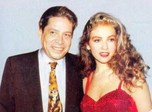 Así fue la trágica relación de Thalía y Alfredo Díaz Ordaz