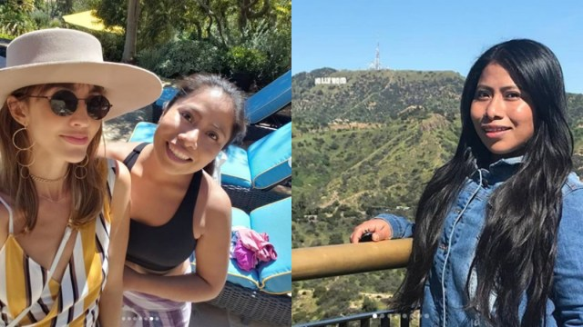 Yalitza Aparicio presume sus vacaciones por California