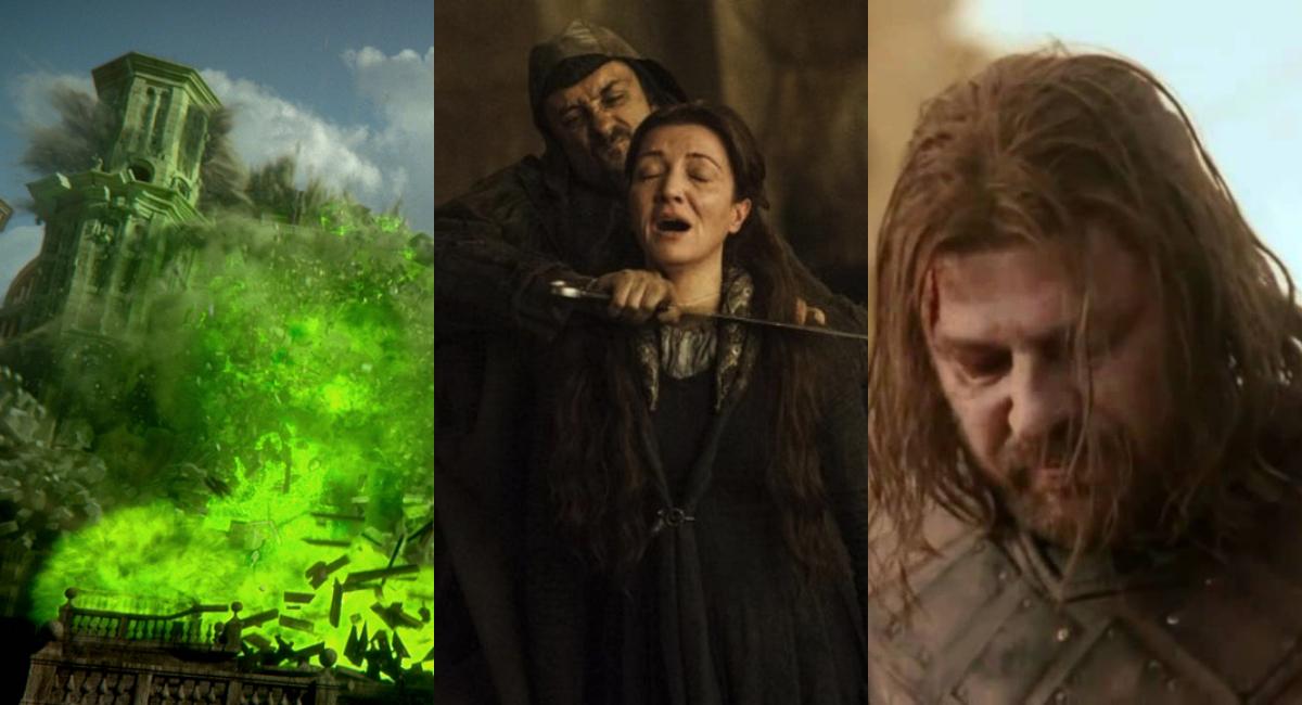 Cinco mejores momentos impactantes de Game Of Thrones