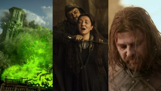 Cinco mejores momentos impactantes de Game Of Thrones