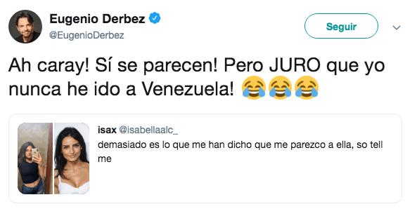 ¿Eugenio Derbez tiene una hija no reconocida en Venezuela?