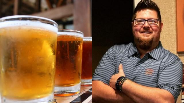 Hombre Sobrevivirá Con Cerveza Durante La Cuaresma, Cuaresma, Cerveza, Hombre Beberá Cerveza, Cuaresma, Del Hall