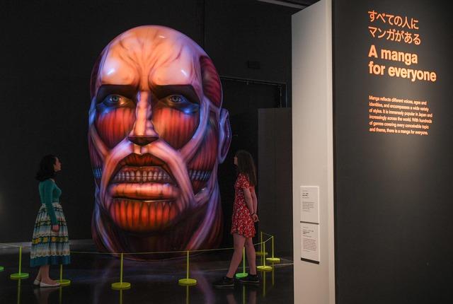 Abre exposición de manga en museo de Reino Unido