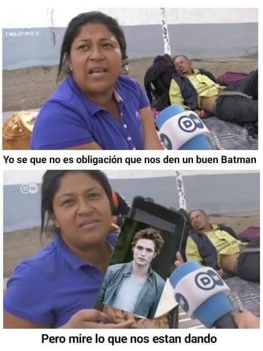 Memes de Robert Pattinson como el nuevo Batman