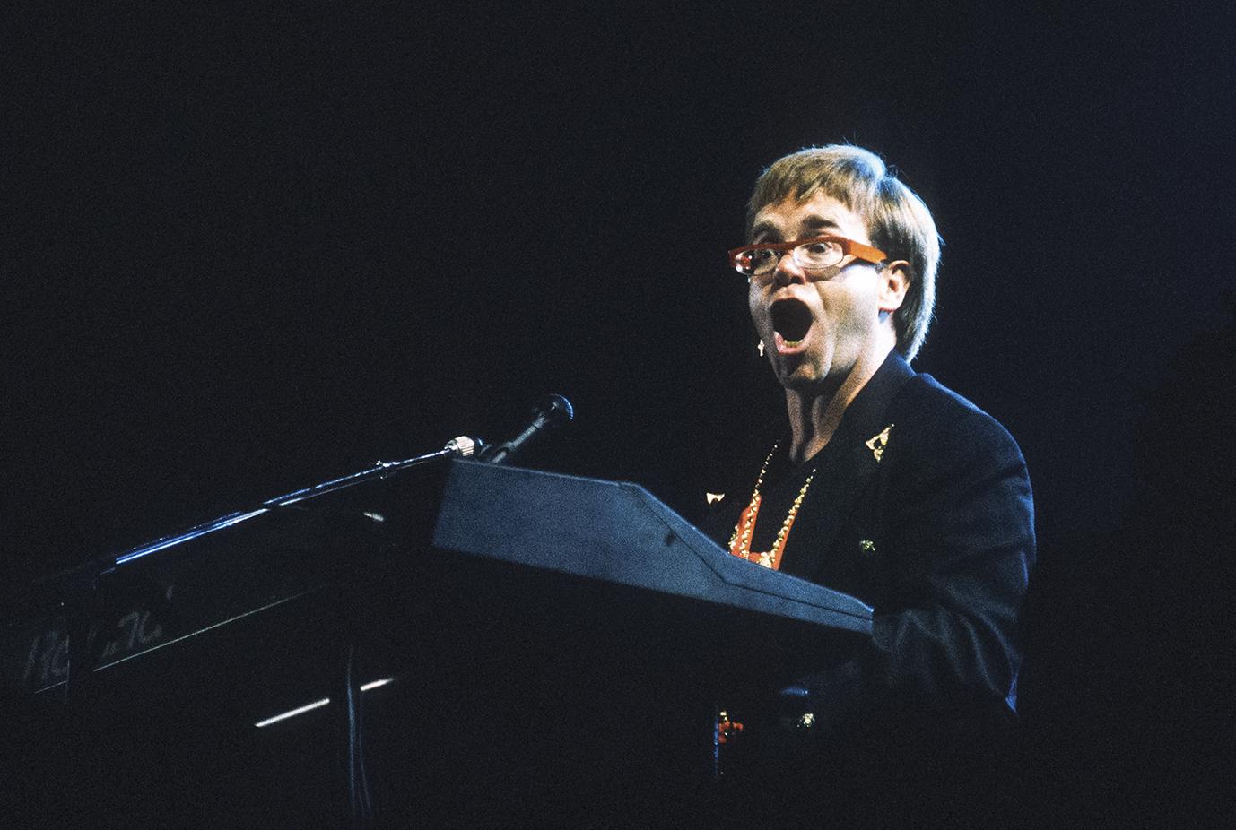 Historia de Elton John en el Castillo de Chapultepec