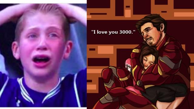 Origen del Te Quiero 3 Mil de Tony Stark en Avengers