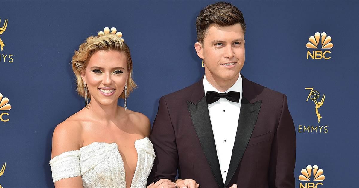 Scarlett Johansson anucia su compromiso con Colin Jost