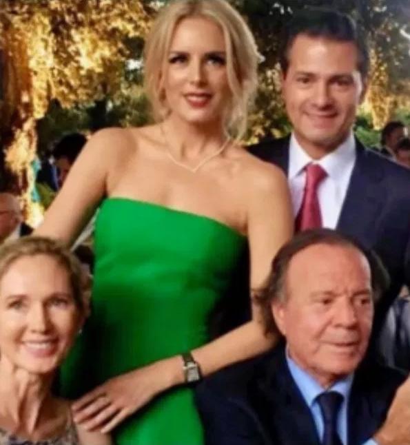 Tania Ruiz hace declaración pública de amor a Enrique Peña Nieto