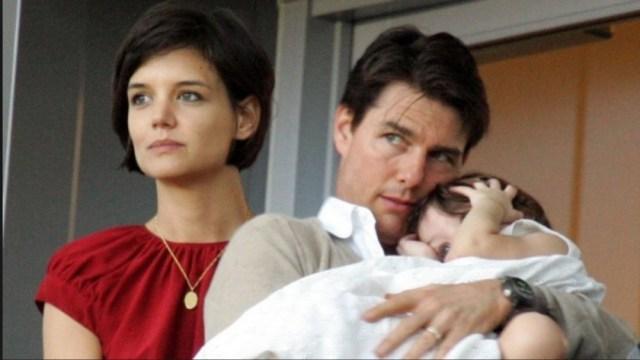 Katie Holme dijo que Tom Cruise jamás será el verdadero papá