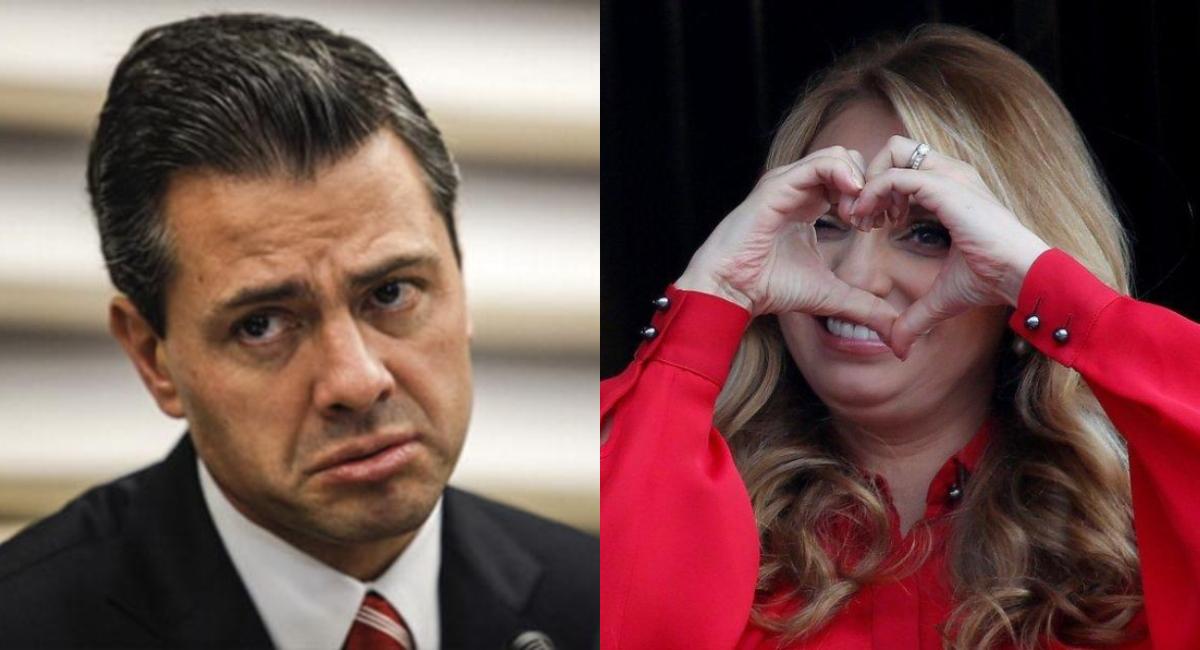 Angélica Rivera comparte amor verdadero con Sofía Castro