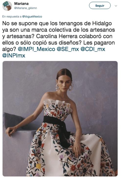 Carolina Herrera presenta colección con motivos inspirados en México