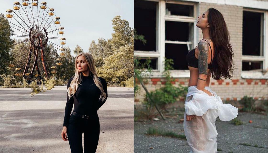 """""""Influencers"""" invaden Chernóbil para sacarse fotos por likes"""