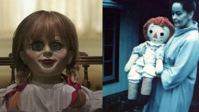 Origen real de la muñeca Annabelle de El Conjuro
