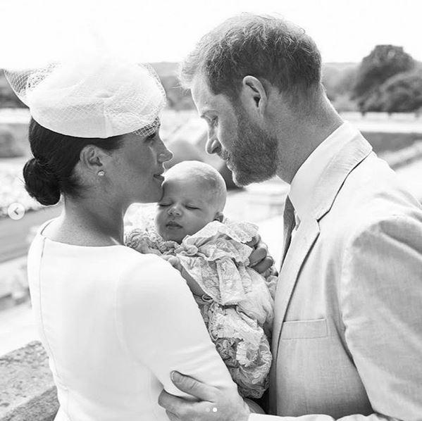 Fotos del bautizo de Archie, hijo de Meghan Markle y Harry