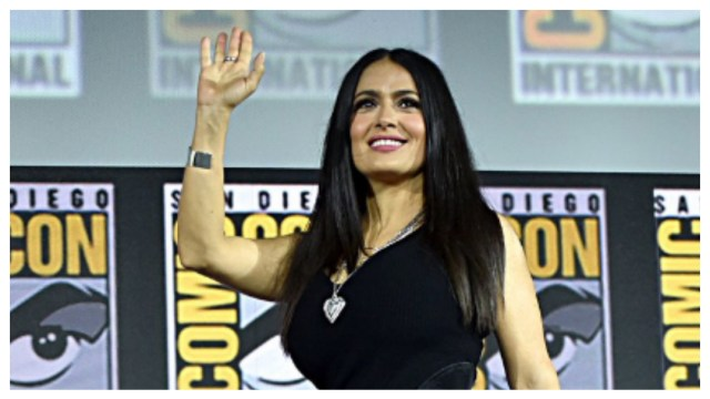Salma Hayek se integrará al Universo Marvel