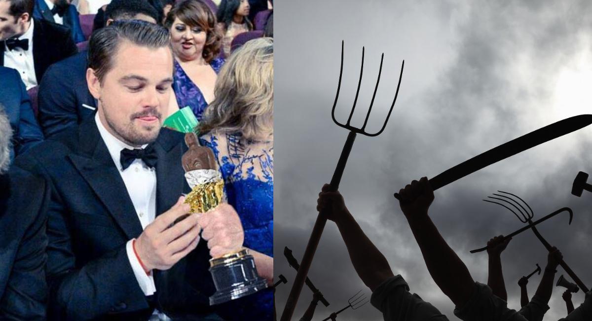 Leonardo DiCaprio: prefiero las papusas a tacos de México