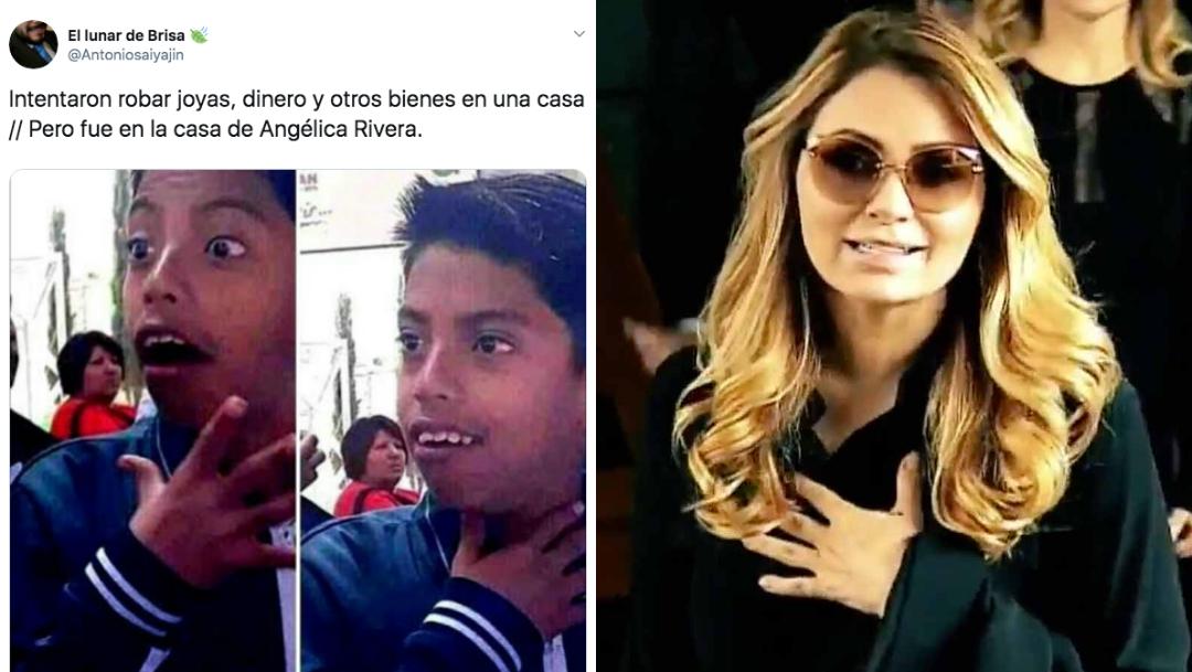 Memes Angélica Rivera, Angélica Rivera, Roban Casa Angélica Rivera, Memes, Memes Robo Casa Angélica Rivera, Angélica Rivera Robaron Su Casa