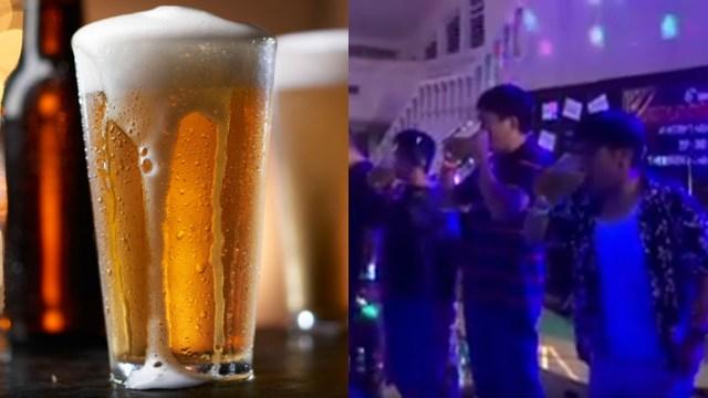 Joven muere tras tomar cerveza de fondo en 30 segundos