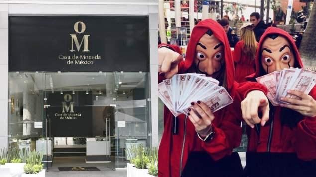 Memes asalto a Casa de Moneda México como en Casa de Papel