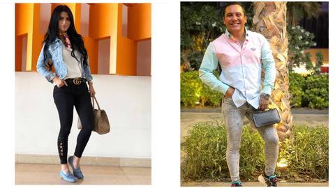 Acusan a Edwin Luna de ponerse los jeans de su esposa en foto