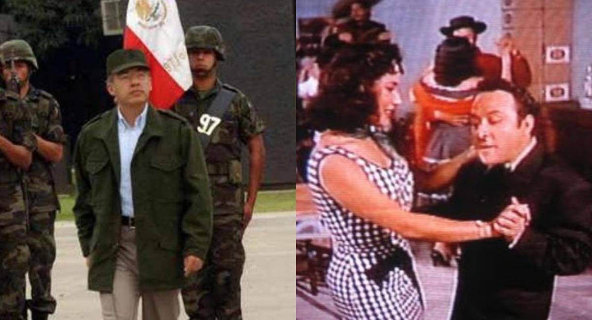 Comandante Borolas Película, Quién Es Comandante Borolas, Comandante Borolas Calderón, Comandante Borolas Fotos, Calderón Guerra Contra El Narco, AMLO Mañanera Calderón