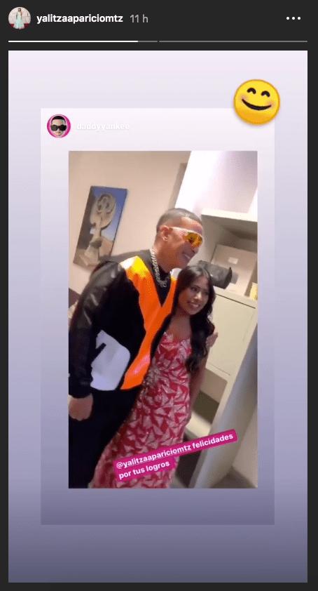 Yalitza Aparicio presume su encuentro con Daddy Yankee