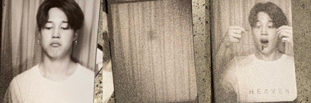 Jimin de BTS comparte fotos sexys en cabina fotográfica