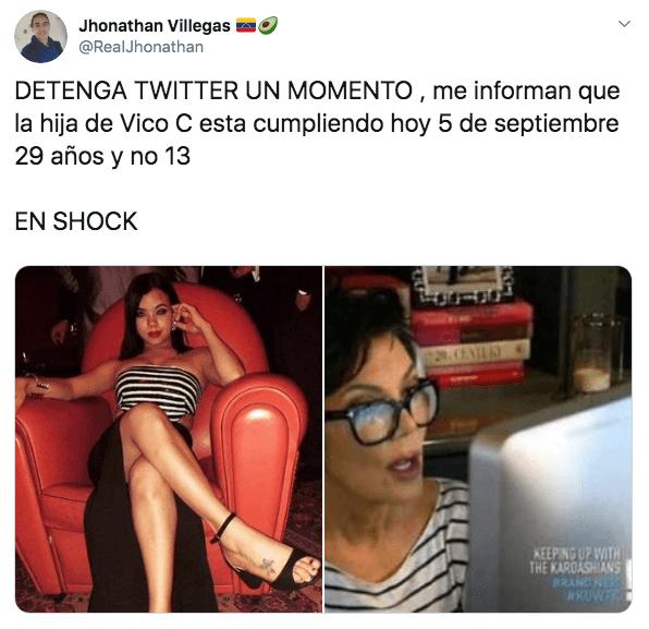 Hoy es 5 de septiembre y vuelven a recordar a la hija de Vico C