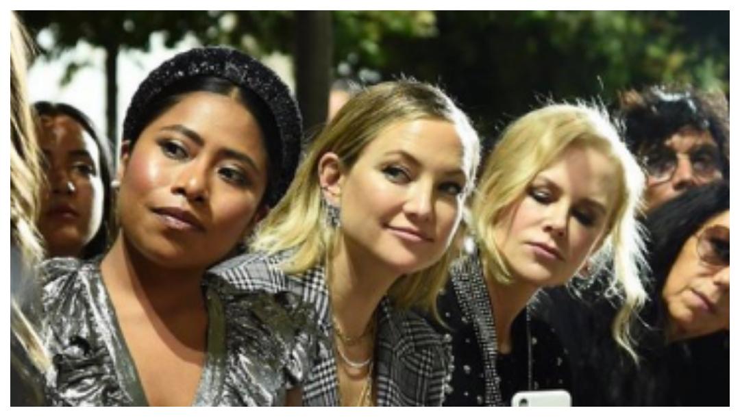 Yalitza Aparicio asiste al NY Fashion Week con Nicole Kidman 11 de septiembre 2019
