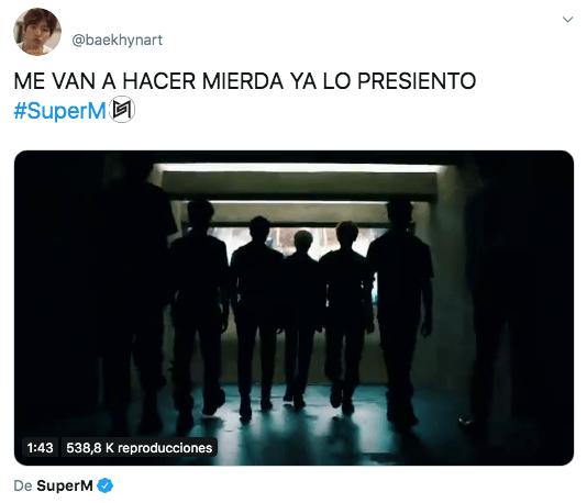SuperM lanza trailer de la banda