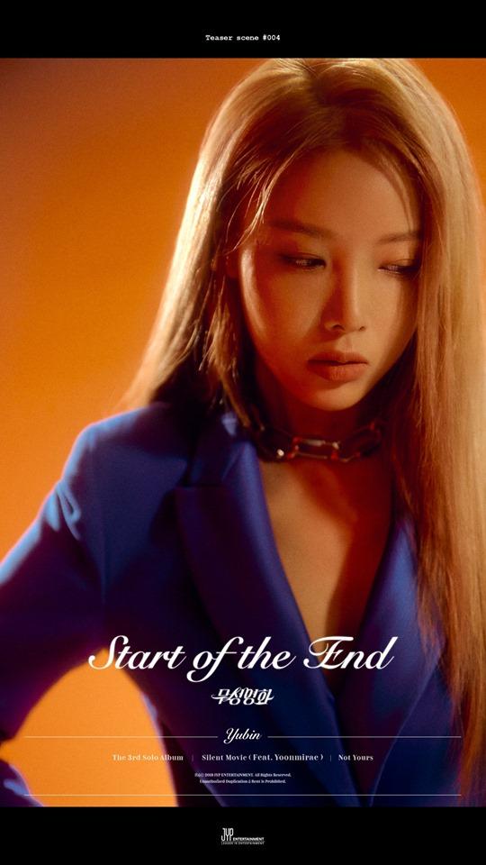 Yubin estrena comeback Star Of The End tras año de descanso