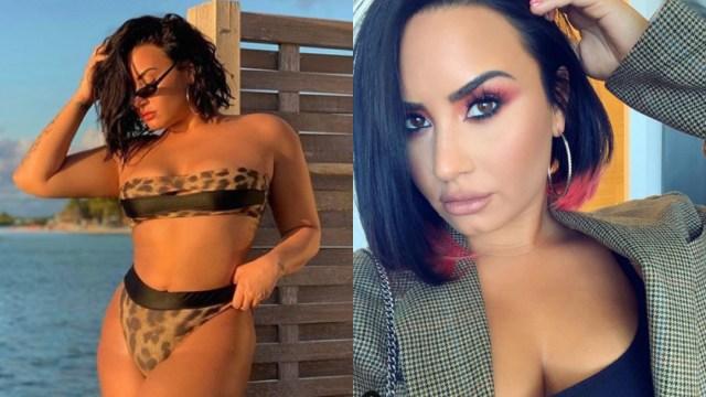 18/10/2019, Demi Lovato es hackeada y filtran su pack con fotos desnuda, Demi Lovato fotos en bikini