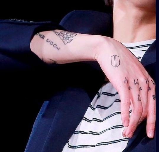 Jungkook de BTS se hace tatuaje inspirado en Nirvana