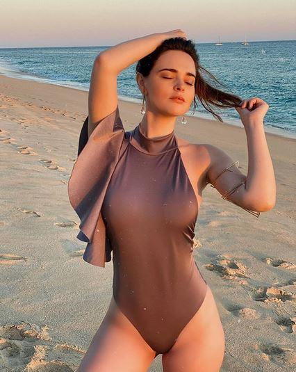 Fabiola Guajardo, presunta novia de Vadhir Dervez, posa en la playa: Instagram